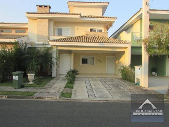 Sobrado Com 3 Dormitórios À Venda, 250 M² Por R$ 990.000,00 - Condomínio Villa Olympia - Sorocaba/sp - So0067