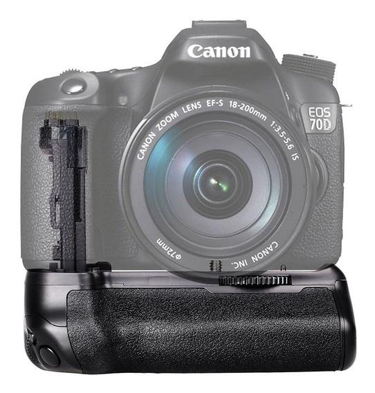 Battery Grip Bateria Canon Eos 70d 80d Bg-1t Lp-e6 Bg-e14