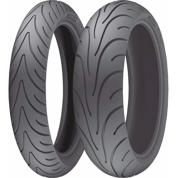 Combo Pneu Michelin Pilot Road 2 120/70-17 + 190/50-17