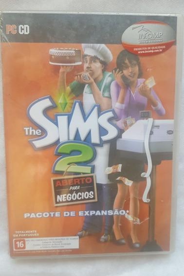 The Sims 2 Aberto Para Negócios - Expansão- Novo-lacrado