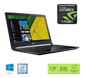 Notebook Acer A515-51g-72db Core I7 7500u Memória 8 Gb Hd 1t