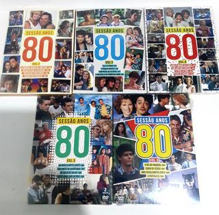 Sessão Anos 80 Vol 1, 3, 4, 5 E 6 - Com 20 Filmes - Lacrados