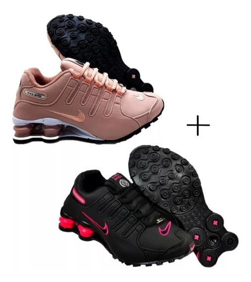 Tenis Sxhox Nike Nz 4 Molas Original Promoção Kit 2 Pares