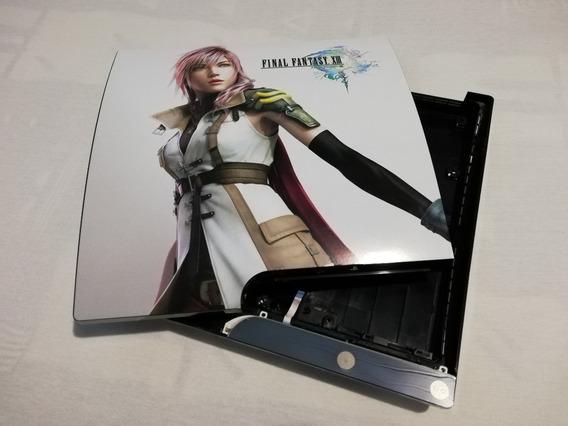 Tampa Superior, Inferior Ps3 Slim Skin Final Fantasy Xiii