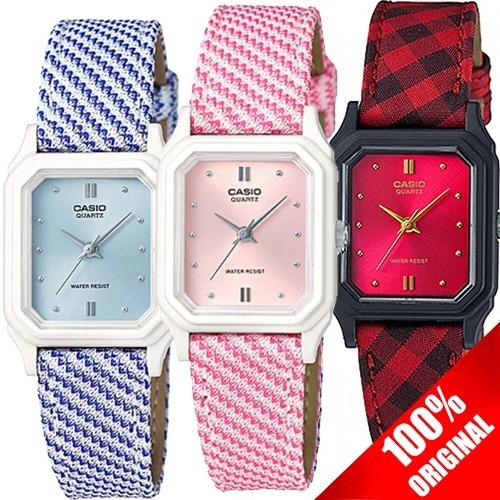 6b2283f97fd3 Reloj Casio Lq142 Dama Lona Varios Colores -   549.00 en Mercado Libre