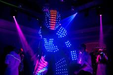 Shows Luminosos Robot Comparsa C/luces Mulatos Animación