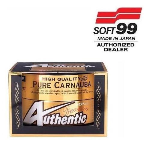 Imagen 1 de 1 de Cera Authentic Premium Soft99 100% Carnaúba