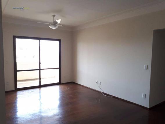 Apartamento Com 3 Dormitórios À Venda, 125 M² Por R$ 450.000,00 - Centro - São José Do Rio Preto/sp - Ap6876