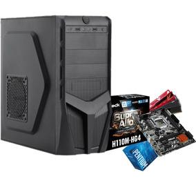 Pc Bg2331 Pentium G4560 H110m Hg4 4gb Ddr4 Ssd120gb 450w