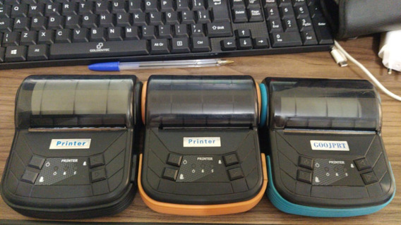Kit Com 3 Impressoras Térmica Mtp3 80mm E 3 Tablets Variados