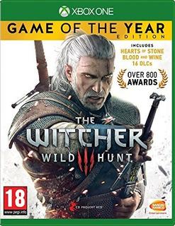 The Witcher 3 Juego Del Año Edicion Xbox One