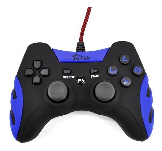 Controle joystick Feir FR-218A azul