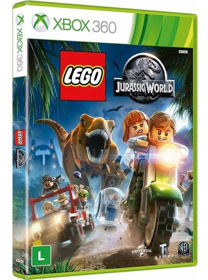Lego Jurassic World - Xbox 360 - Novo - Mídia Física