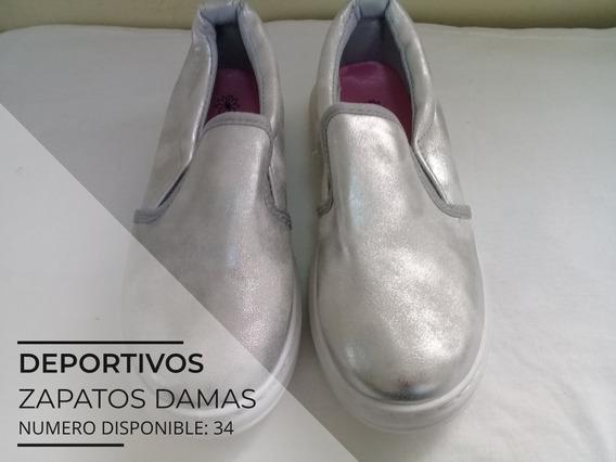 Zapatos Deportivos Para Damas Bloom Numero 34