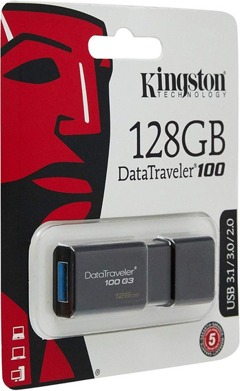 Pen Drive Kingston 128gb Dt100 Original