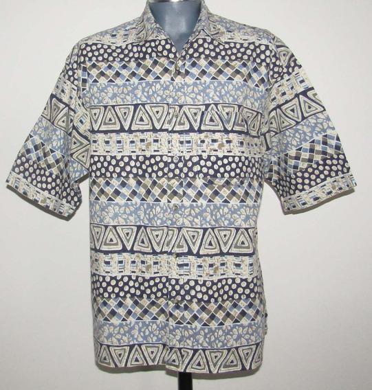 Camisa Moda Urbana Tela Lino /algodon Talla Grande