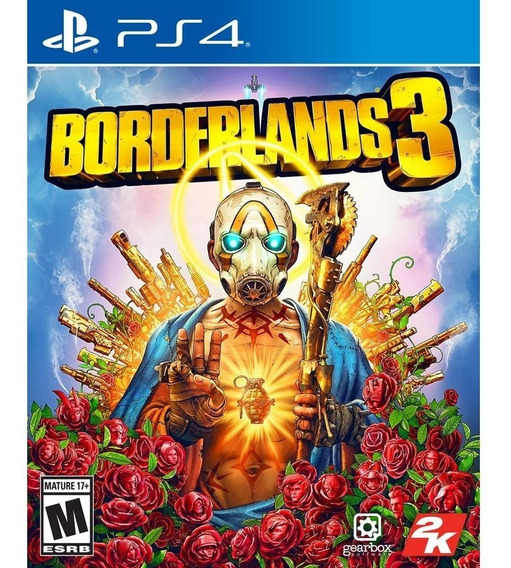 Borderlands 3 Ps4 Midia Física Lacrado Pronta Entrega