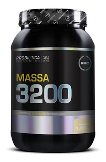 Massa 3200 - 1,6kg - Probiótica Hipercalórico Promoção