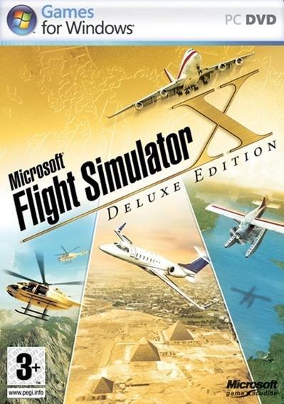 Fsx - Flight Simulator X Original Digital Para Notebook E Pc