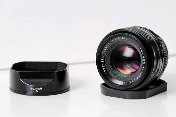 Lente Fujifilm Xf 35mm F/1.4 R Otimo Estado Fuji