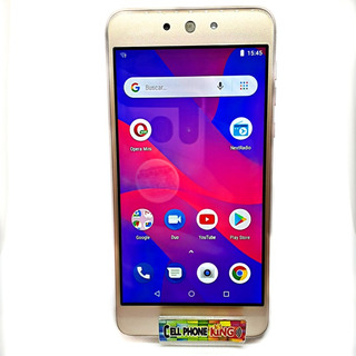 Telefono Blu Grand M2, 1gb Ram Y Camara De Selfie Con Flash