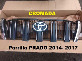 Parrilla Cromada Para Toyota Prado 2010-2018