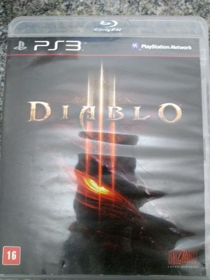Diablo - Ps3 Original Em Mídia Fisica