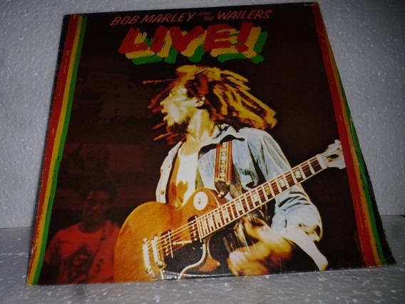 Lp Bob Marley Live 1986 Br = Z E R A D O
