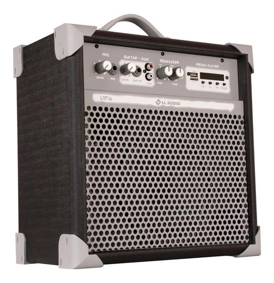 Caixa Ativa Amplificada Multiuso Up6 45w Rms Bluetooth Nca