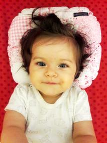 Travesseiro Para Cabeça Chata De Bebês - Várias Estampas