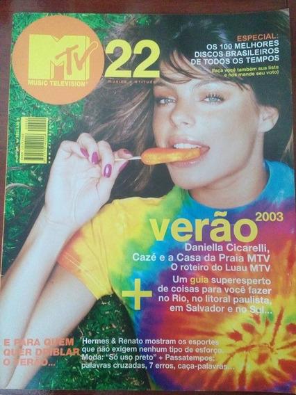Revista Mtv Nº 22 - Hermes E Renato