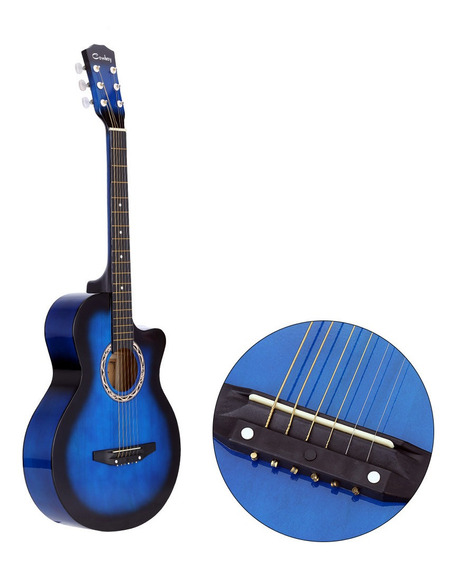 Tiger Guitarra Acstica Cuerpo Pequeo para Guitarra Principiante ...