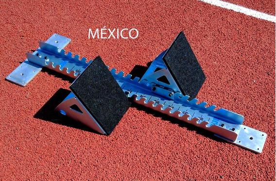 Arrancador Blocks Botadores Carreras De Atletismo