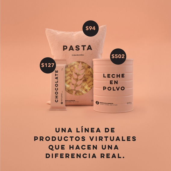 Combo - Banco De Alimentos Productos Virtuales- Donación
