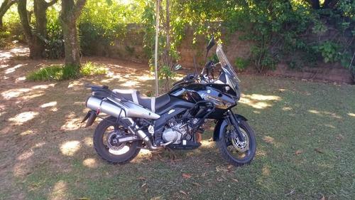Suzuki Dl 1000 V-strom Preta/prata