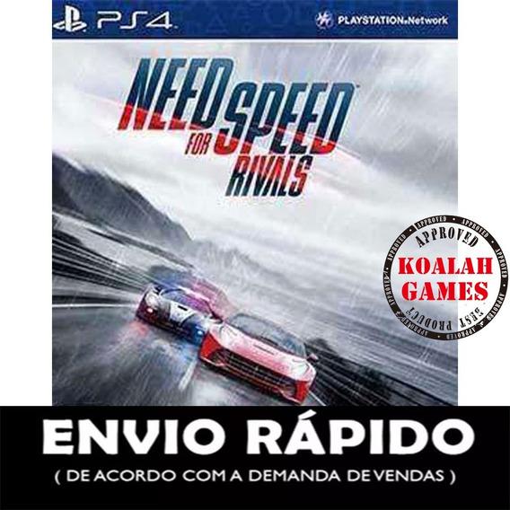 Need For Speed Rivals Ps4 Cod1 - Mídia Digital Psn