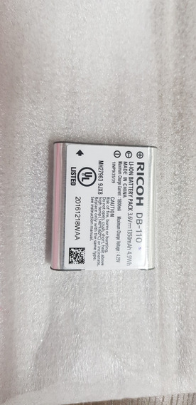 Bateria Li-on 3,6v Ricoh Db-110 Theta Sc/s /m15