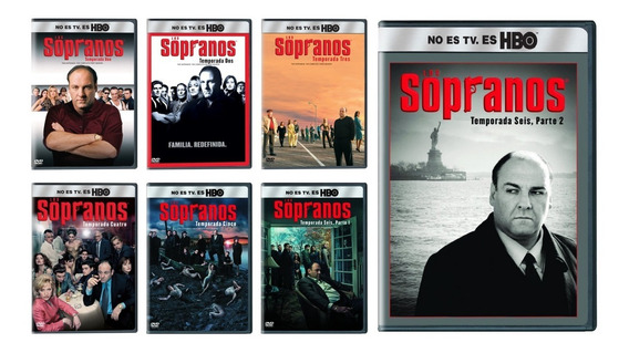 Los Sopranos Temporada 1 2 3 4 5 6 Paquete Dvd