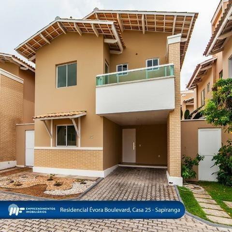 Casa Duplex Na Sapiranga! Condomínio Évora Boulevard