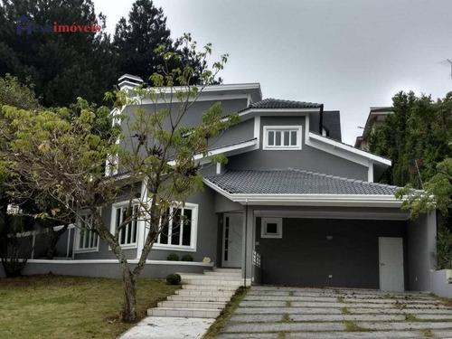 Imagem 1 de 26 de Casa Com 4 Dormitórios, 450 M² - Venda Por R$ 1.780.000 Ou Aluguel Por R$ 9.000/mês - Residencial Morada Dos Lagos - Barueri/sp - Ca0626