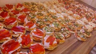 30 Pizzetas Surtidas + 30 Empanaditas De Copetin