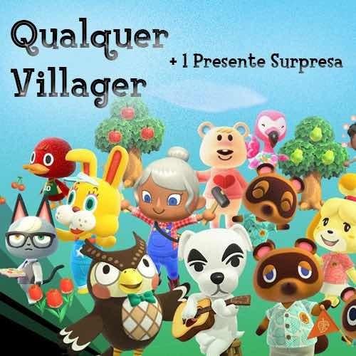 Animal Crossing - Qualquer Villager