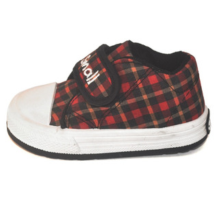 Zapatilla Bebe Abrojo Cuadros Small Shoes