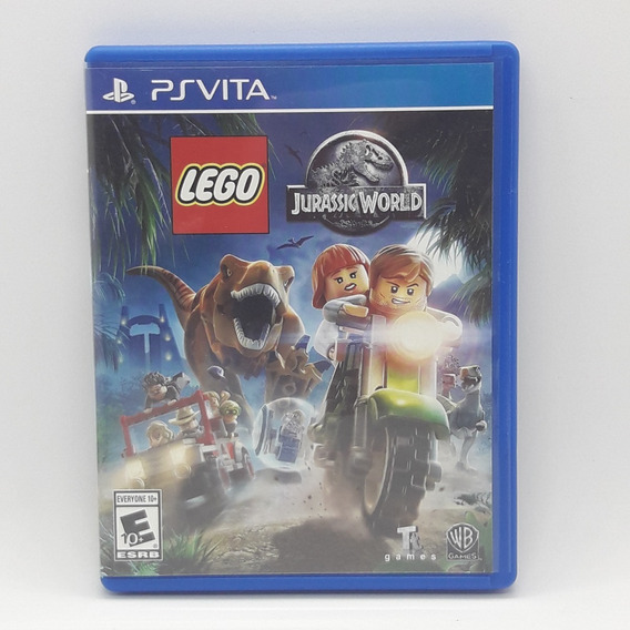 Lego Jurassic World Ps Vita Midia Fisica Jogo Game