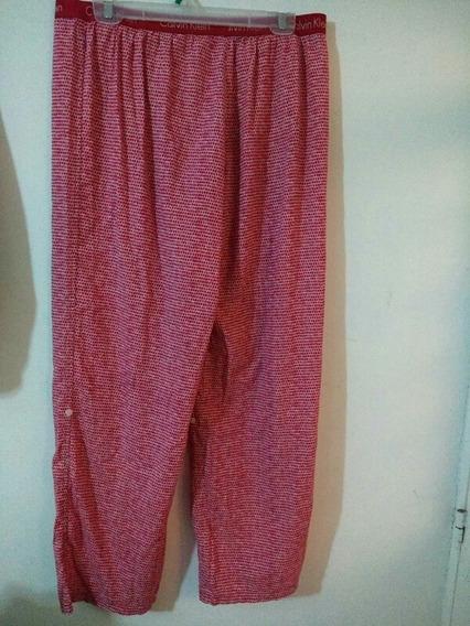 Pantalon Pijama Calvin Klain Talla L Rojo