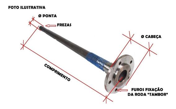 Ponta Eixo Opala 6cc 4cc Original Braseixos 750mm