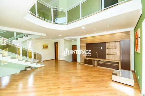 Casa Com 3 Dormitórios À Venda, 229 M² Por R$ 900.000,00 - Abranches - Curitiba/pr - Ca0482