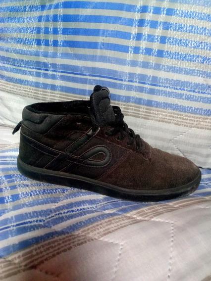 Tênis Ous Roni All Black Cano Médio Botinha Vans Old Skool
