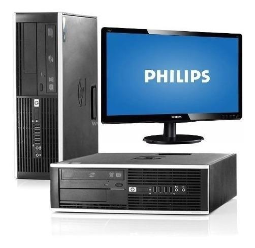 Monitor +cpu Desktop Hp 8300 Core I5 3ª 3570 3.10ghz 4gb 1t