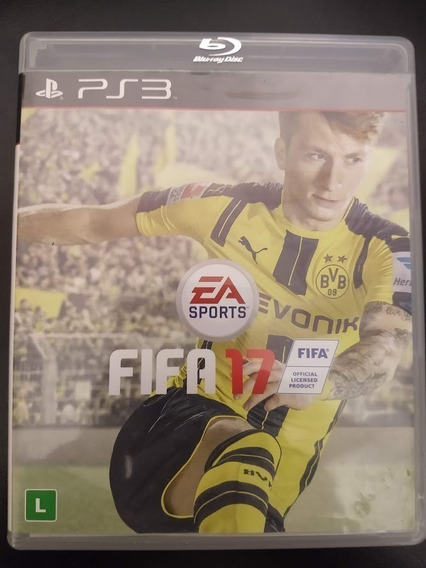 Fifa 17 Ps3 Midia Física 2017 Fifa Original Playstation 3